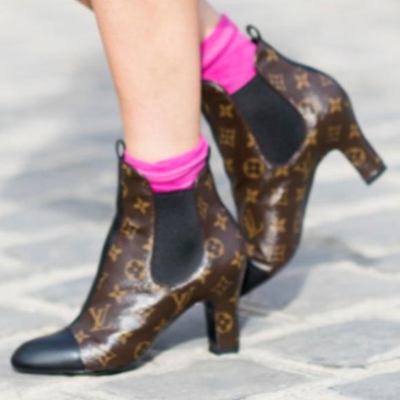 30de4f54792b Louis Vuitton Shoes - Louis Vuitton Monogram Revival booties NWOB